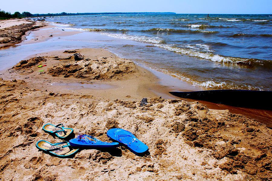 Flip Flops Photograph - Flip Flop Heaven by Sheryl Burns