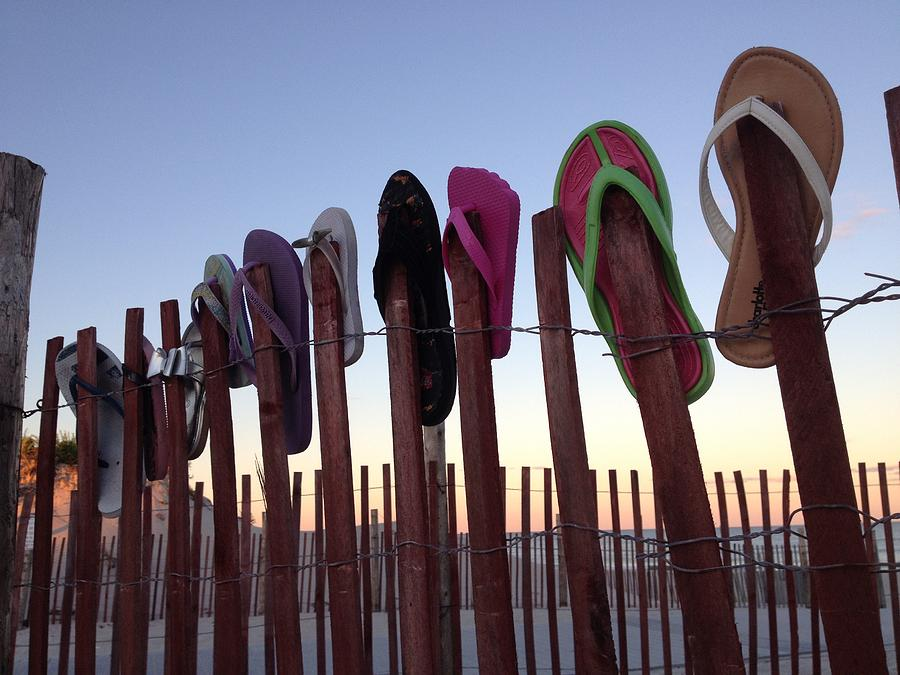 Flip Flop Lost and Found Photograph by Kristopher Schoenleber
