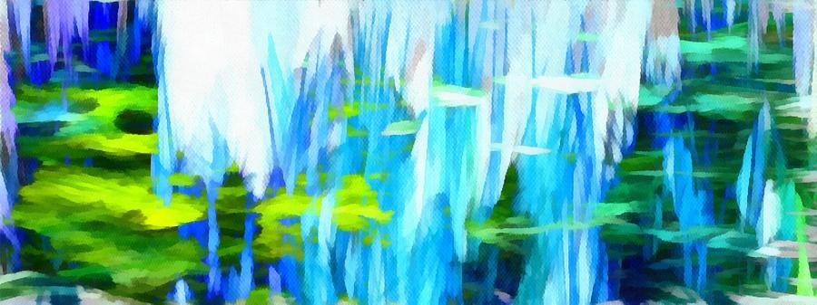 Float Mixed Media - Float 1 Horizontal by Angelina Vick