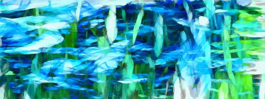 Float Mixed Media - Float 2 Horizontal by Angelina Vick