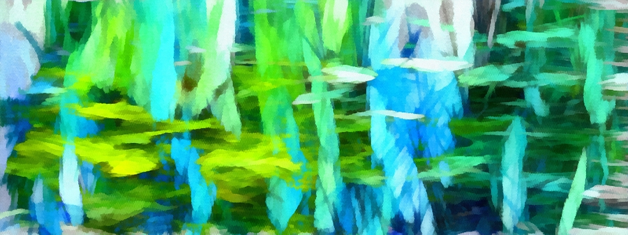 Float Digital Art - Float 4 Horizontal by Angelina Vick