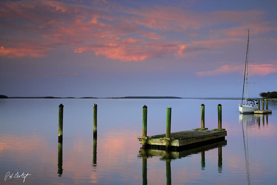 Beaufort County Photograph - Floating Docks by Phill Doherty