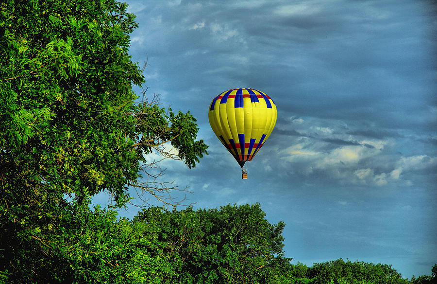 Case Design hot air balloon phone case : Floating Free is a photograph by Dennis Wells which was uploaded on ...