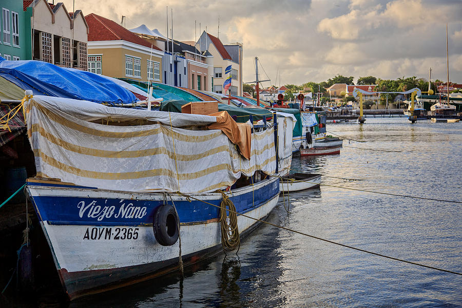 Floating Market Curacao by Stephen Kennedy