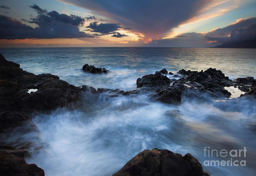 Kihei Photograph - Flooded by Mike  Dawson