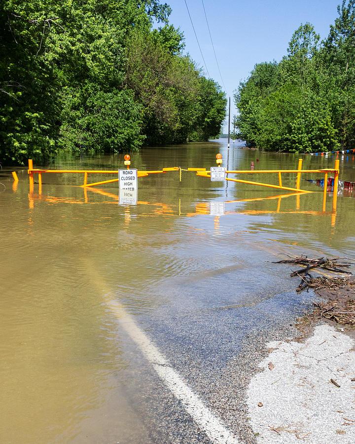 Flood Photograph - Flooded by Timothy Blair
