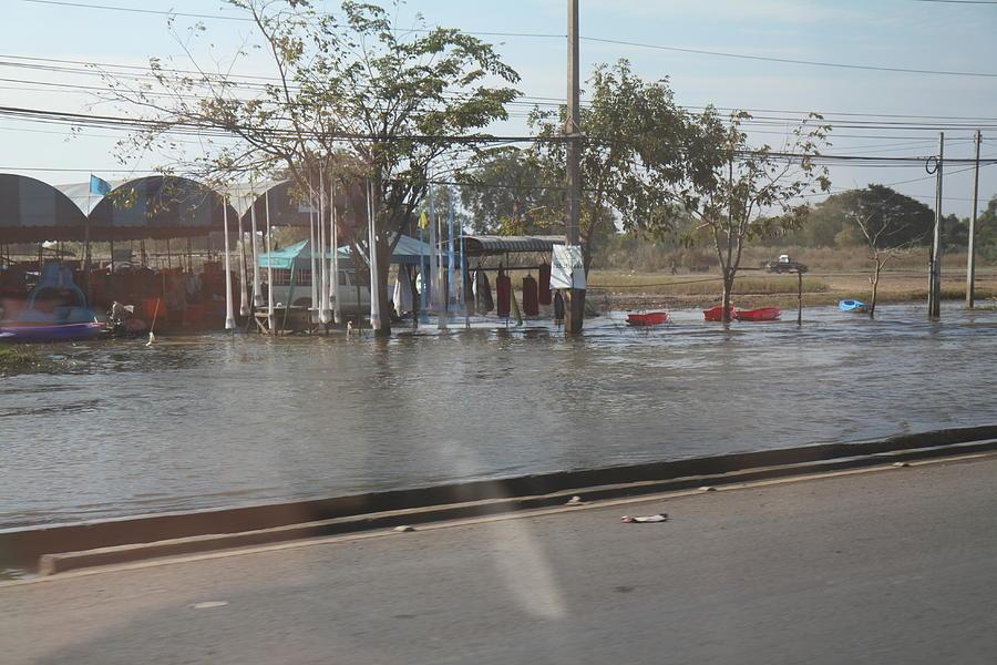 Bangkok Photograph - Flooding Of The Streets Of Bangkok Thailand - 01131 by DC Photographer