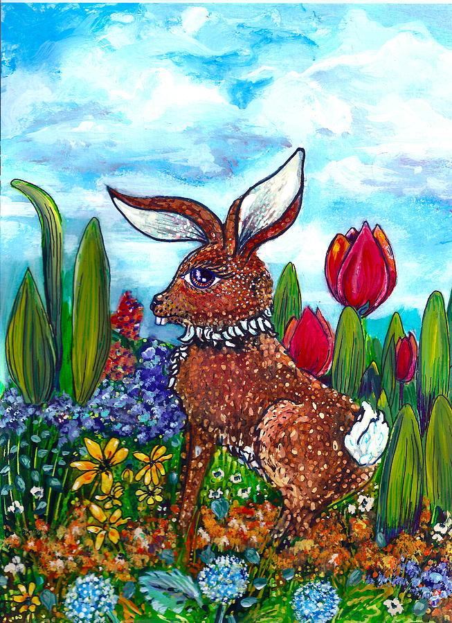 Flop Ear Rabbit Painting