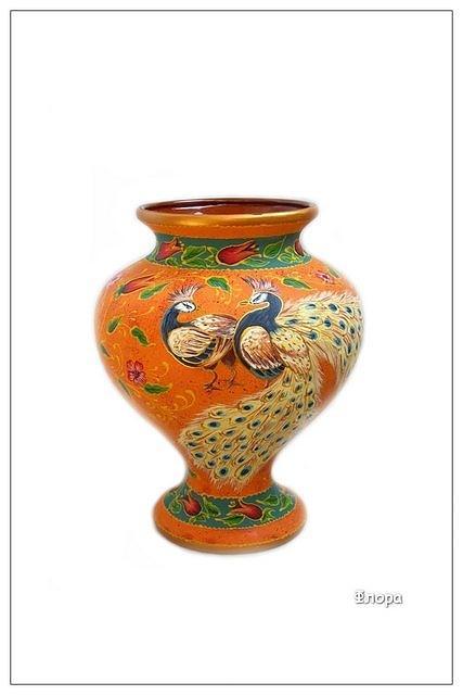 Ceramic Ceramic Art - Flora by Alexsandr Lovchikov