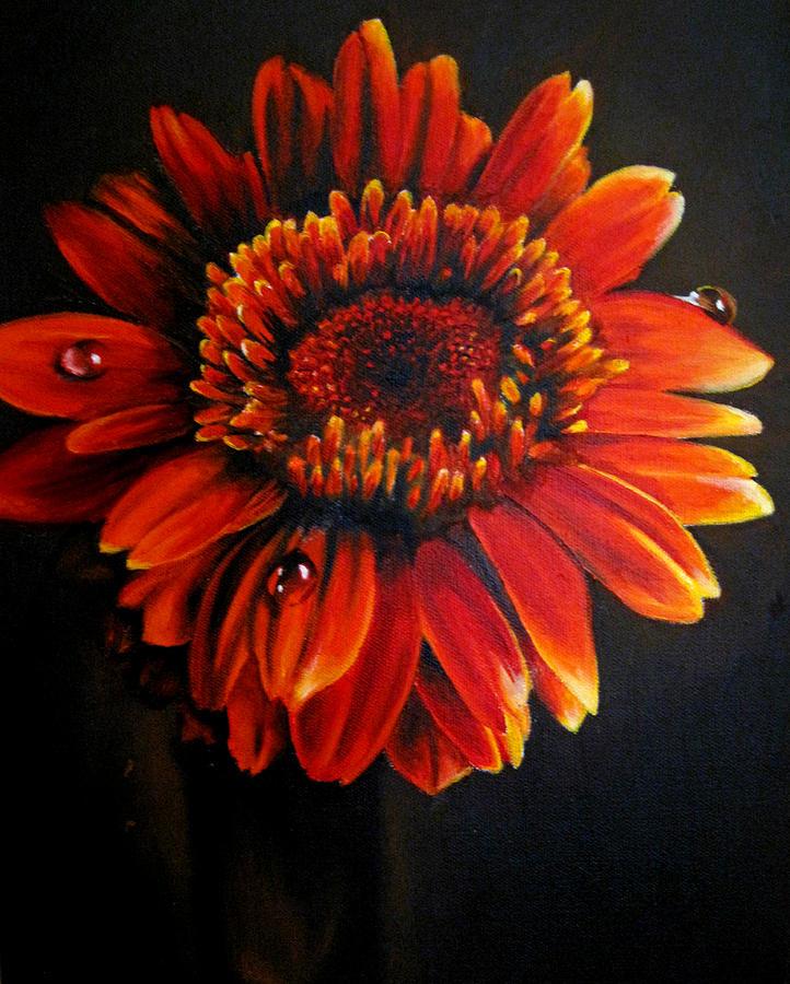Floral Painting - Flora by Stephanie LeVasseur