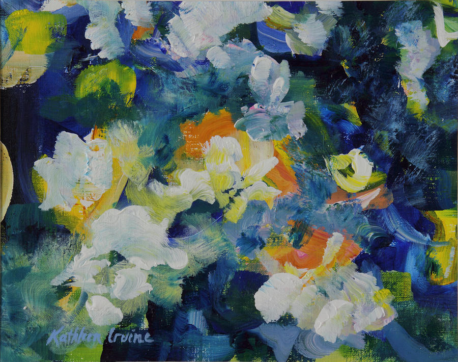 Floral Abstract by Kathleen Irvine