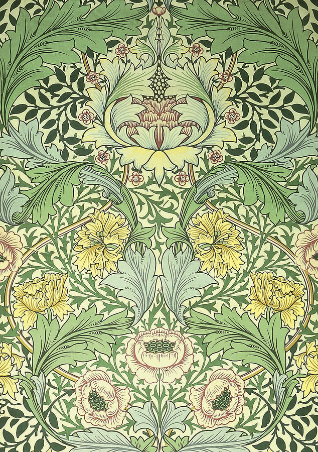 Floral And Foliage Design Digital Art By Philip Ralley