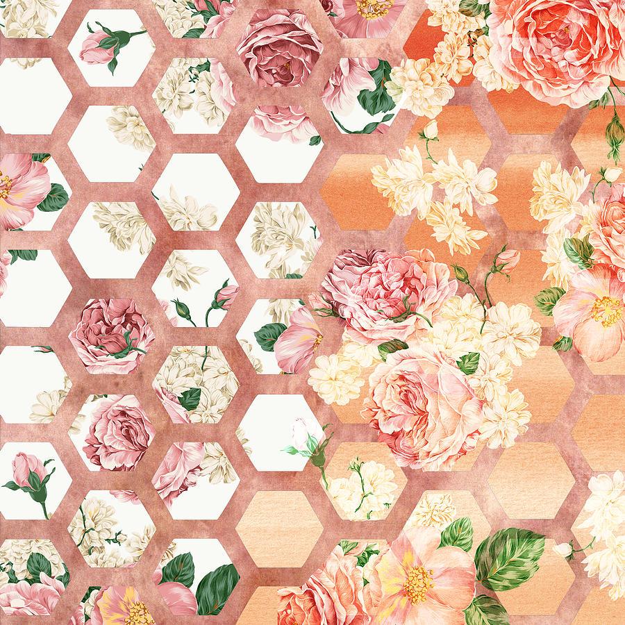 Floral Art Mixed Media By Ramneek Narang
