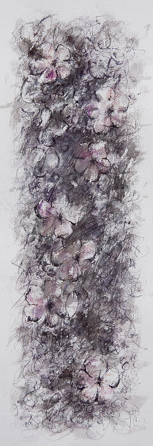 Floral Painting - floral cascade II by William Russell Nowicki