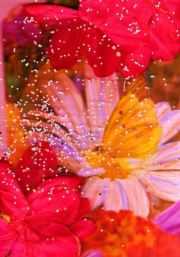 Azaleas Mixed Media - Floral Delight by Anne-Elizabeth Whiteway