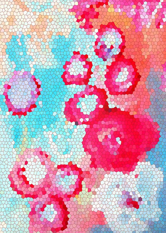 Print Digital Art - Floral IIi by Patricia Awapara