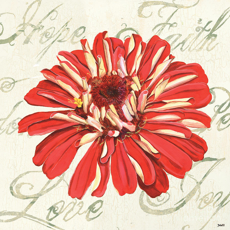Floral Painting - Floral Inspiration 1 by Debbie DeWitt