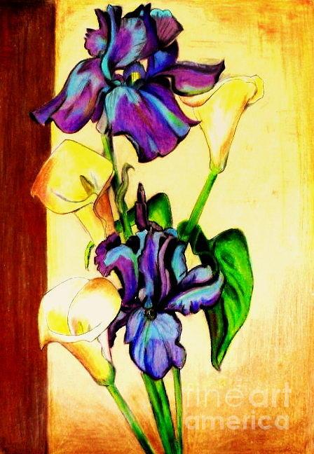 Landscape Painting - Floral by Mylene Le Bouthillier