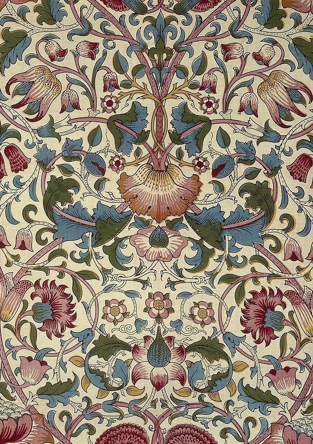 Victorian Floral Wallpaper William Morris