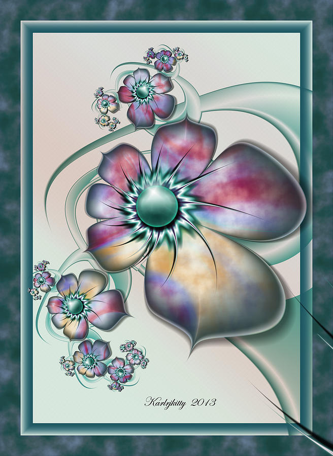 Floral Whimsy by Karla White