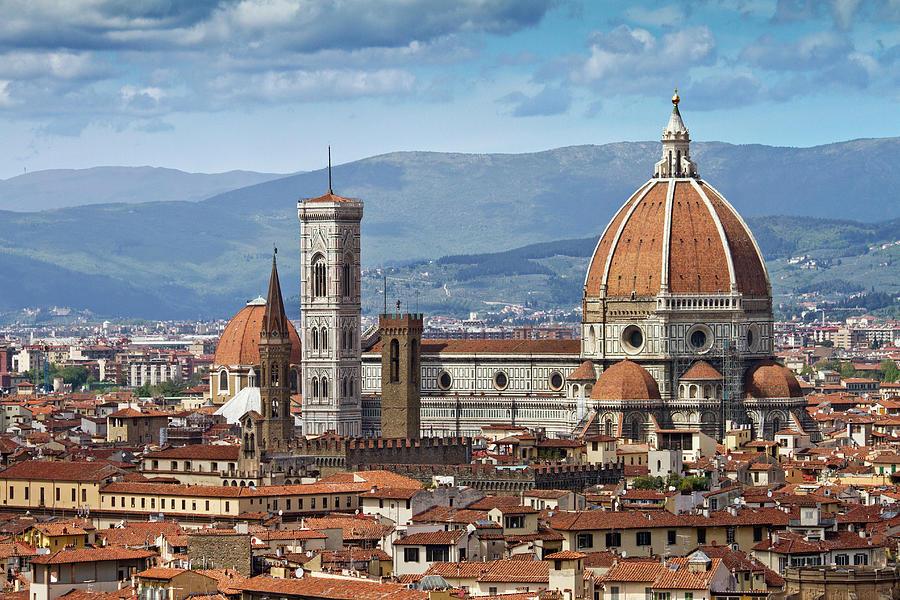 Florence Cathedral Photograph by Ellen Van Bodegom