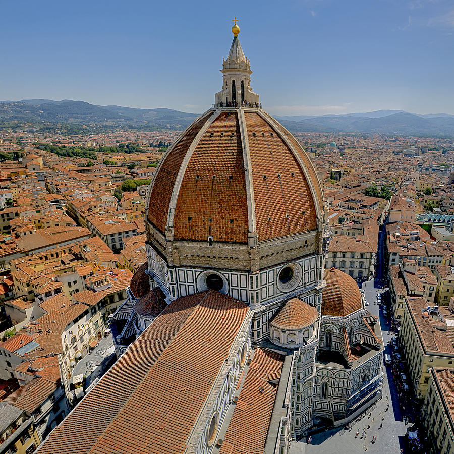 Architecture Photograph - Florence Cathedral by Patrick Jacquet