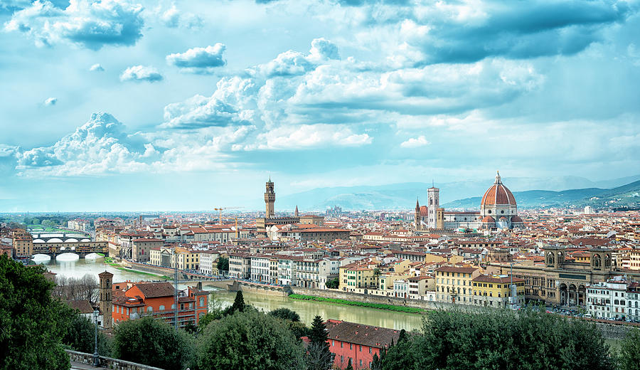 Florence Cityscape Photograph by Martin Wahlborg