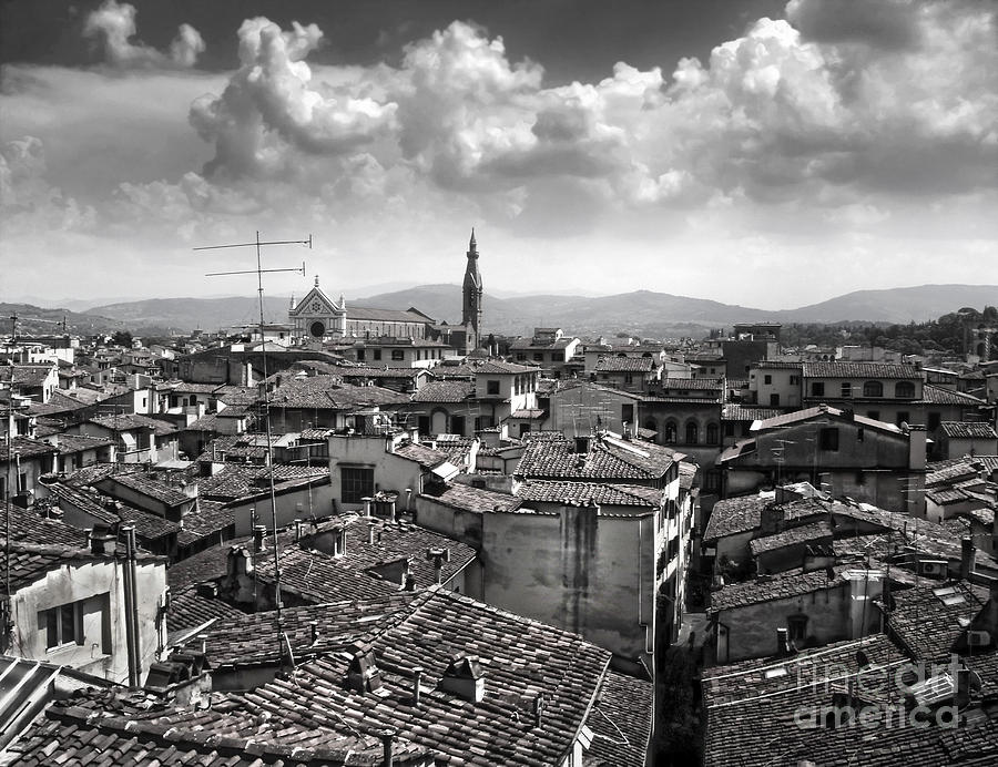 Florence Italy Painting - Florence Italy - 01 by Gregory Dyer