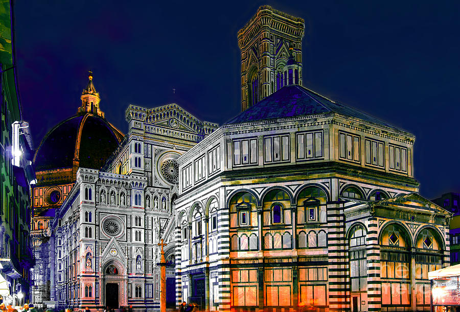 Florence Photograph - Florence Italy by Lilianna Sokolowska