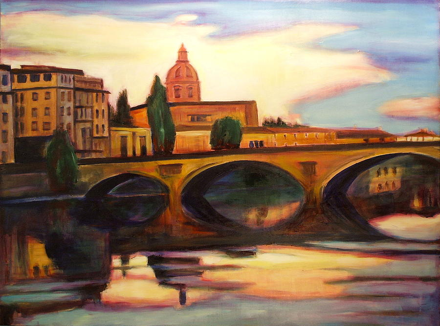 Florence Painting - Florence by Sheila Diemert