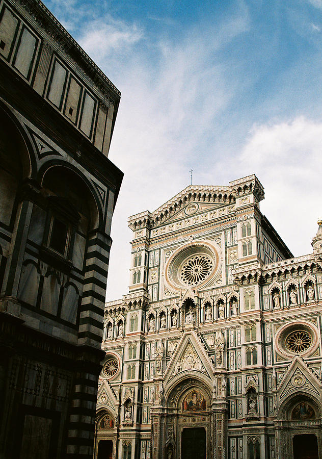 Florence Photograph - Florentine Architecture by Michael  Cryer
