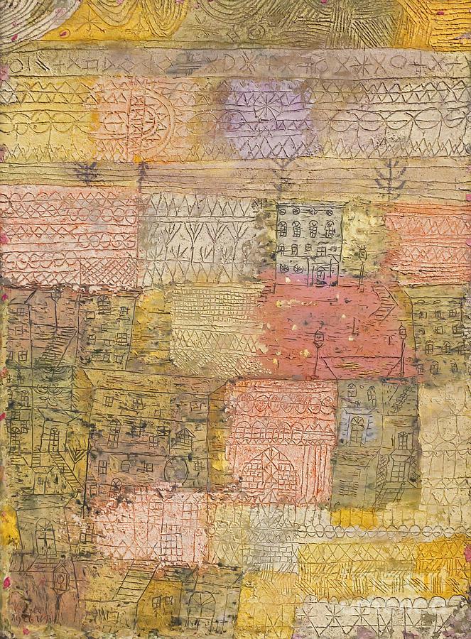 Poster Villas florentines Paul Klee