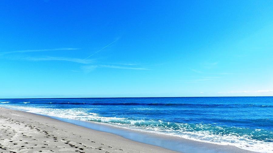Beaches Photograph - Florida Beach by Yvonne Aguero