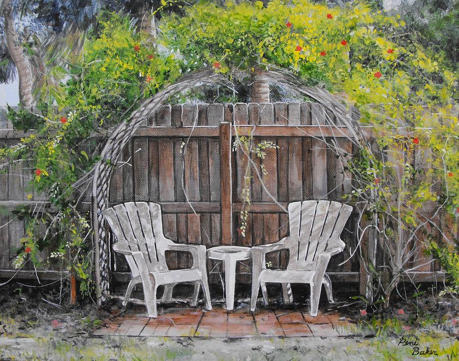 Florida Painting - Florida Summer by Peni Baker