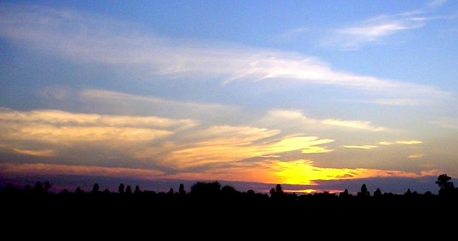 Sunset Photograph - Florida Sunset by Norman Johnson