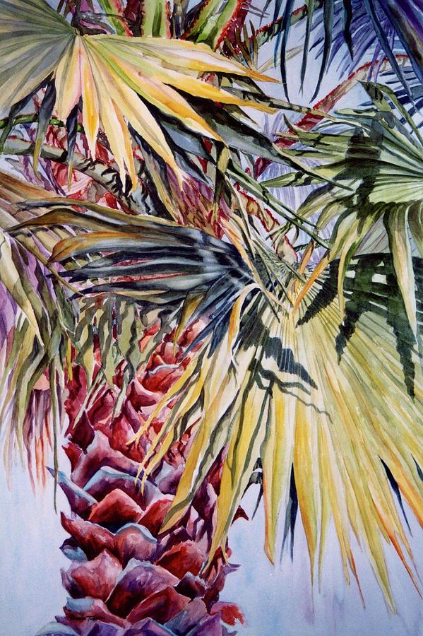 Palmetto Painting - Floridas Pride by Roxanne Tobaison