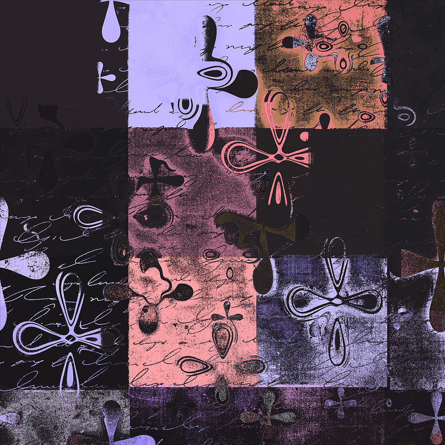 Lilac Digital Art - Florus Pokus 02e by Variance Collections