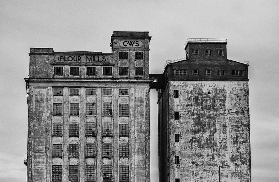 Architecture Photograph - Flour Mills by Andrew Menzies