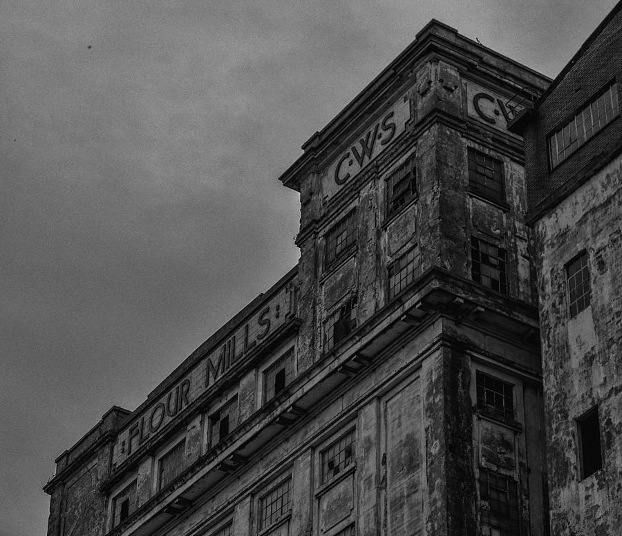 Architecture Photograph - Flour Mills II by Andrew Menzies
