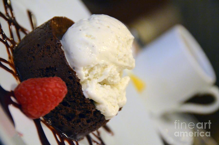 Flourless Chocolate Cake by Scott D Welch