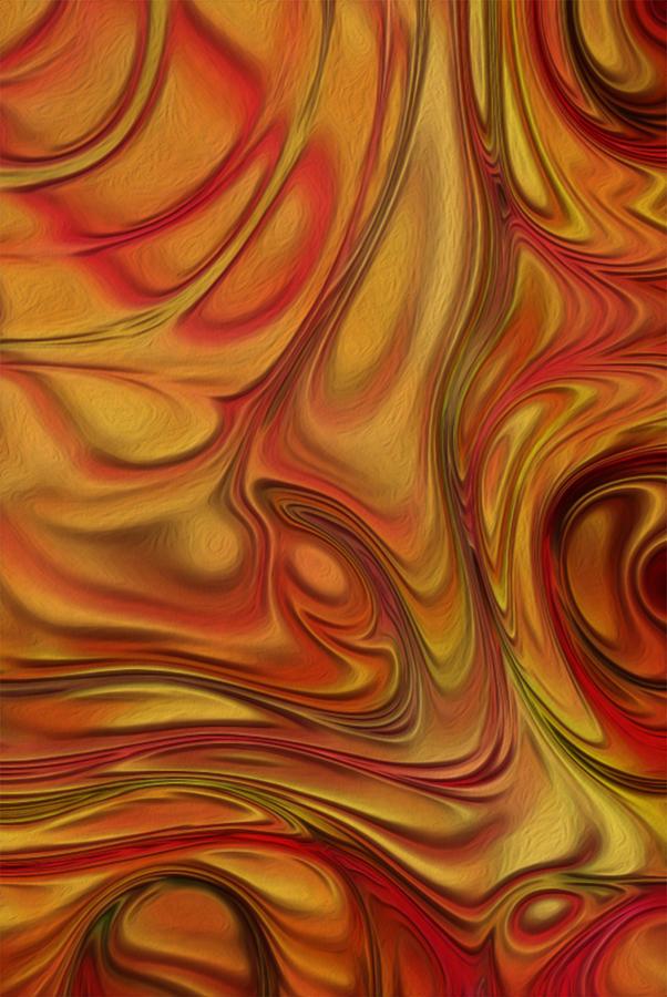 Metal Painting - Flow 10 by Jack Zulli