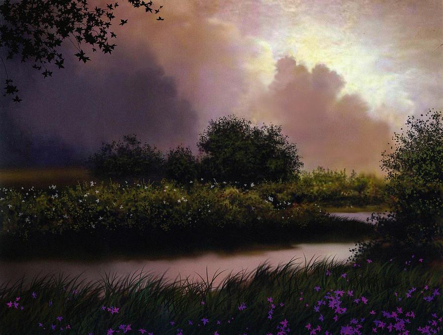 Landscape Painting - Flower Creek by Robert Foster