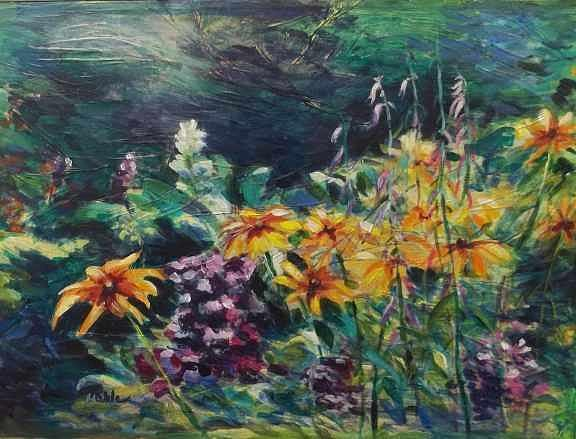 Flowers Painting - Flower Fantasy by Carol Kalbe