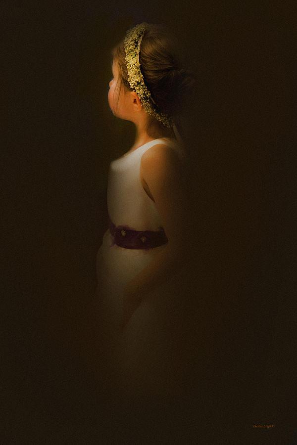 Flower Girl Photograph - Flower Girl by Theresa Tahara