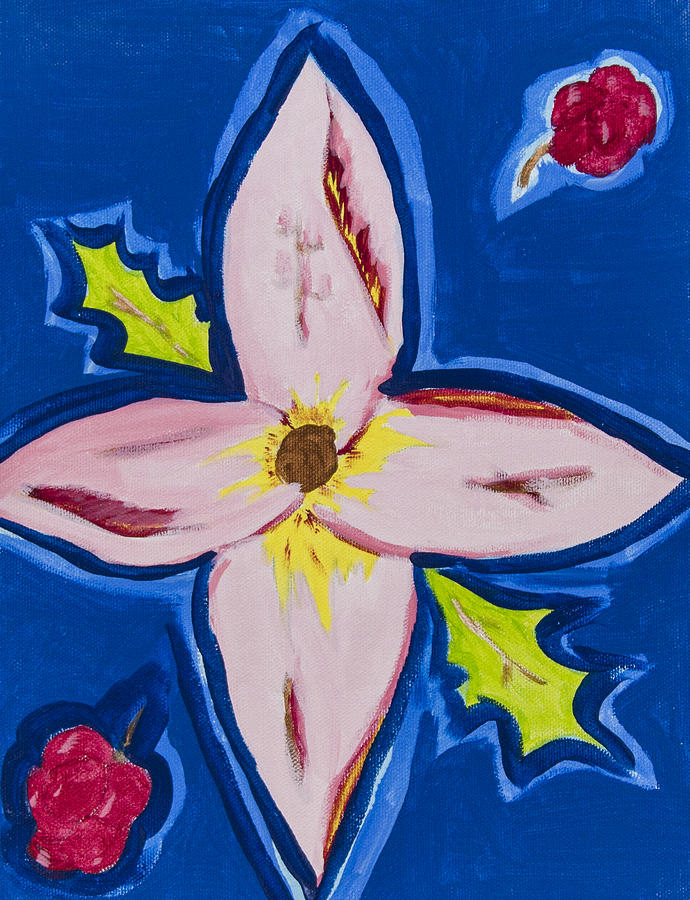 Painting Painting - Flower by Melissa Dawn
