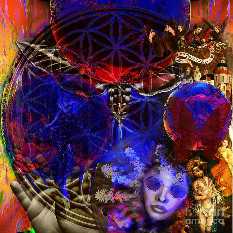 Flower Of Creation Digital Art