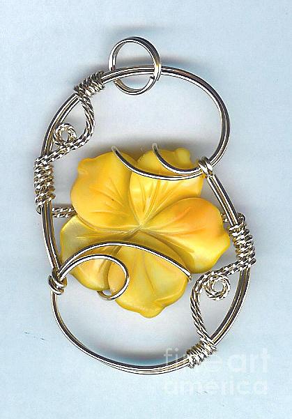 Pendant Jewelry - Flower Power by JoLen Confer