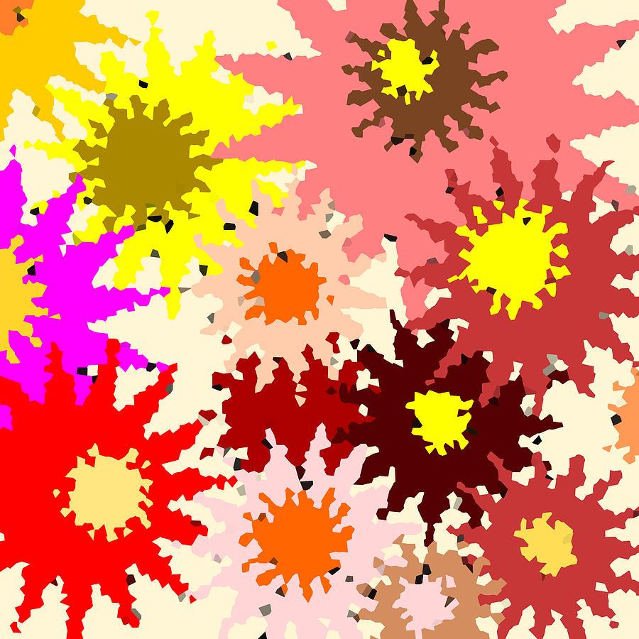 Flower Digital Art - Flower Power by Mary Bedy