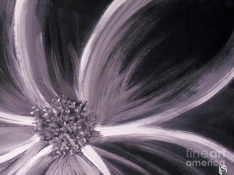Floral Painting - Flower Romance II by LCS Art