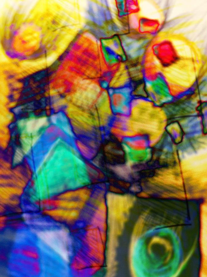 Flowers Digital Art - Flower Soldiers by Robert M Cooper
